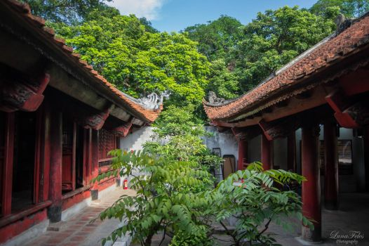 Temple of Literature 3 by LunaFeles