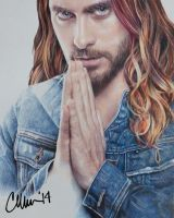 Jared Leto Drawing by Live4ArtInLA