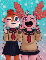 Cute 2 poot. by Wazzaldorp