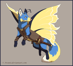 Commission: Fairy Fox by Avanii