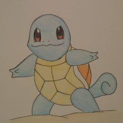 Squirtle from Pokemon Series by EJArt93