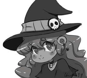 Sketch DaiLY 18 : Witchy by Christina-LY