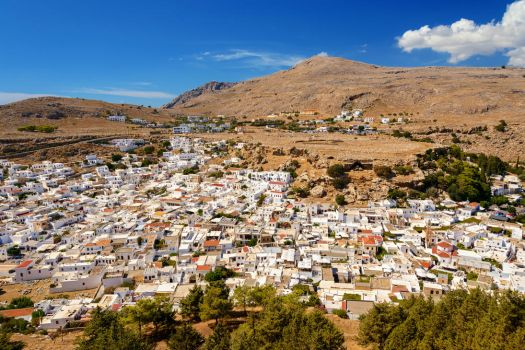 Lindos - Rhodes by Roman89