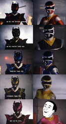 Power Rangers in Space - You Don't Say? by FadedShadowFox