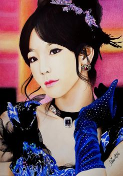TAEYEON of Girls Generation aka SNSD, KPop by Mim78