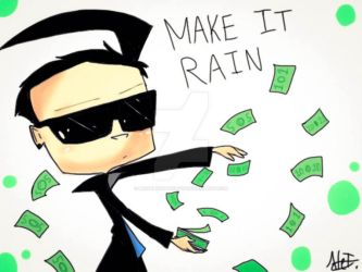 MAKE IT RAIN by MoonlightWolf17