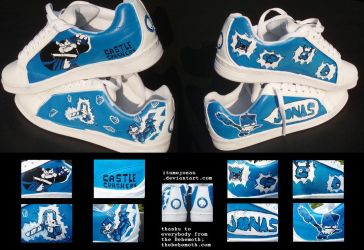 Castle Crashers Sneakers by ItsmeJonas