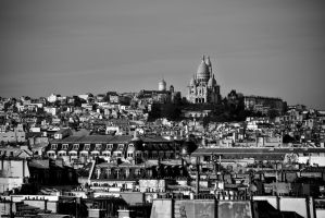 Sacre Coeur from Pompidou by Matus76
