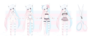 + Lockette MYO: Pastel Queen + by Lunathyst