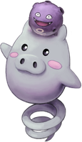 Spoink with Koffing