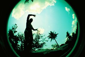fisheye camarines - jumping by jcgepte