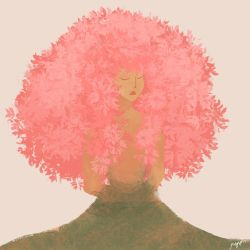 Pink tree by delryyy
