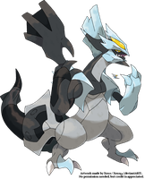 Black Kyurem by Xous54