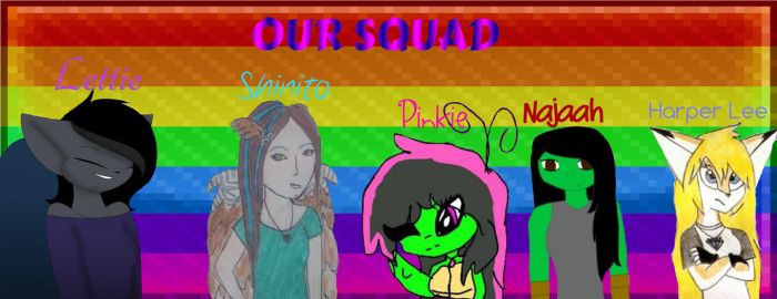 MAH SQUAD by TammyWolfGirl
