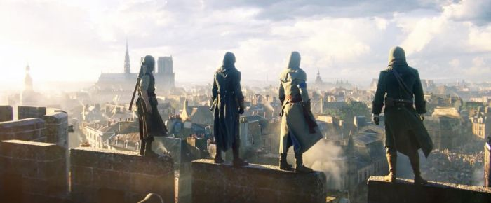 Assassin's Creed Unity: E3 Cinematic Trailer Cap by lucylucycoles