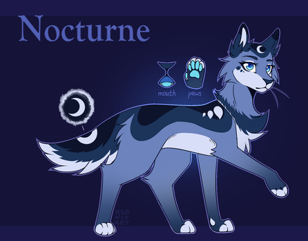 Nocturne(Inspiration) Reference [2018] by kseniyart