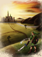 To Hyrule by sugushmeaky