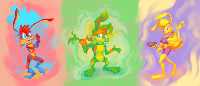 The Jackrabbits (Jazz Jackrabbit 2) by BuduFamousPosleDeath