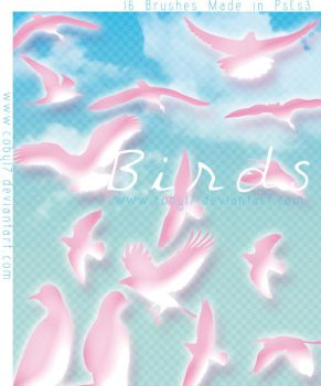 Birds Brushes by Coby17