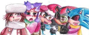 X'mas to Queenie, Mint, Maria and Mephonic1 by Specter1997