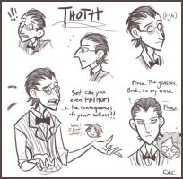 P :: Moar Thoth by Inonibird