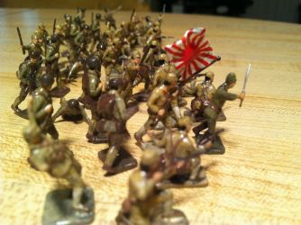 WWII Japanese Soldiers by corpseandCo