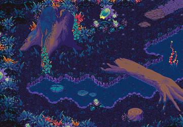 EcoVerse: Lampflower Forest by AzKai