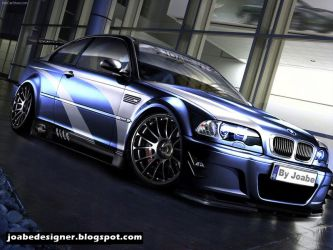 Virtual Tuning BMW M3 by JoabeDesign
