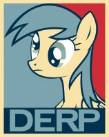 Derpy Hooves poster by ItsJustRED