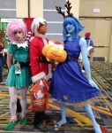 Holiday matsuri 2017 Steven Universe group 3 by kingofthedededes73