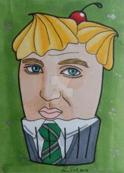 Harry Potter Cupcakes- Draco Malfoy by LadyNin-Chan