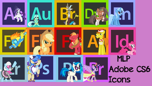 MLP Adobe CS6 Icons by Spaceisthelimit