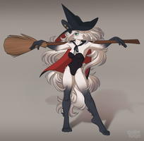 [C] Witch of Sass by CharmRage