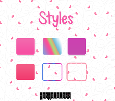 Styles New's by yoaeditions