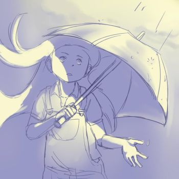 Peace in Rain by complex-s
