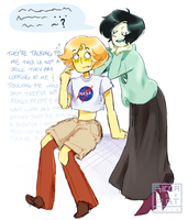 [Gem OCs] Hanging Out by Riccasze