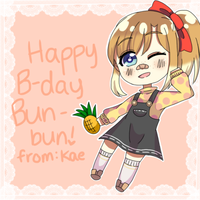 Happy B-Day Bun-bun!! by k-kae