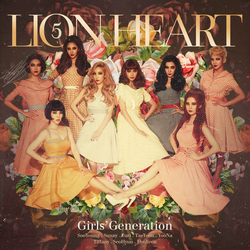 Girls' Generation - Lion Heart by GOLDENDesignCover