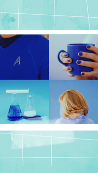 Carol Marcus and Leonard McCoy by Shewolvesdark