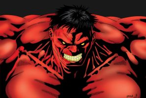 Red Hulk by pascal-verhoef