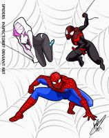 Spiders by Inspector97
