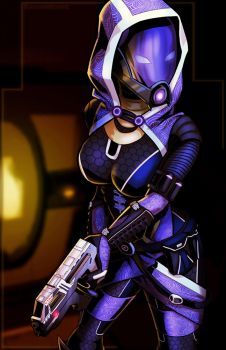Tali'Zorah by Baconmoose