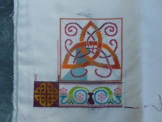 Acupictora's celtic sew along update by BellaGBear