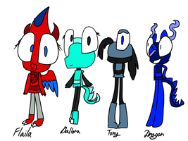 Mixels my ocs by astya45
