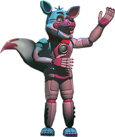 Funtime Foxy Full Body by YinyangGio1987