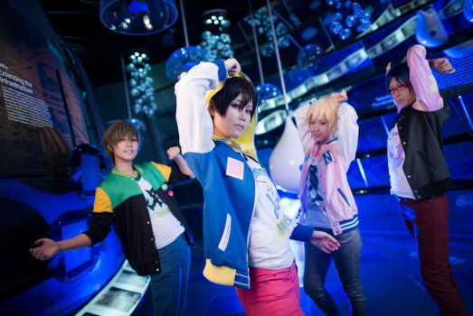 Free! - Iwatobi Swim Club by YAsuukun