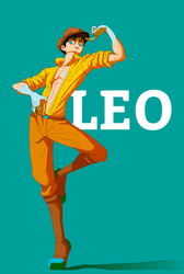 Leo (Oc) by l1ncher