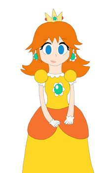Princess Daisy by Maggie-Dash
