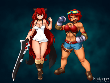 Dungeon and Fighter Avatars wallpaper by Nestkeeper