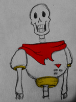 Papyrus doodle! by blissfully-Random